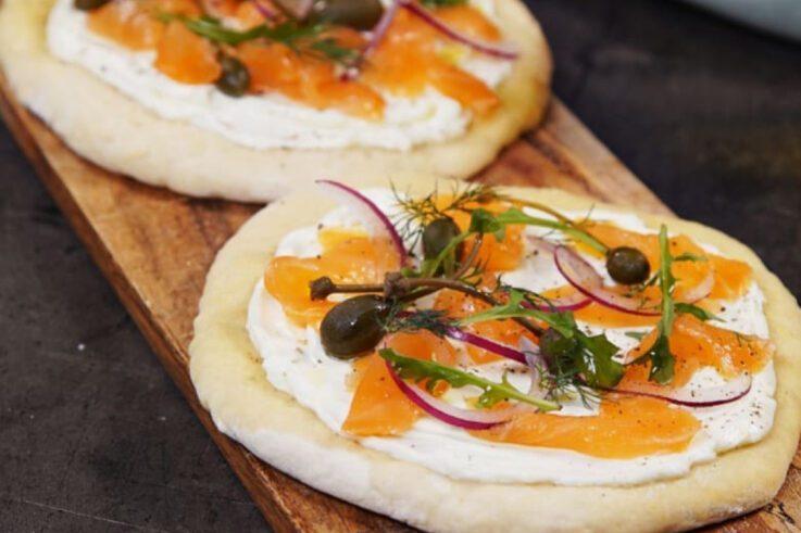 Pizza de Salmón